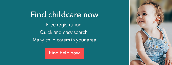 Clickable link to find childcare including night nannies